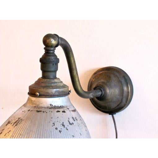 Mercury Glass Wall Light For Sale - Image 4 of 10