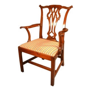 English Chippendale Style George III Chair For Sale