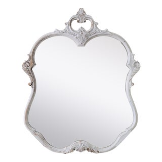 Late 19th Century Carved Victorian Mirror For Sale