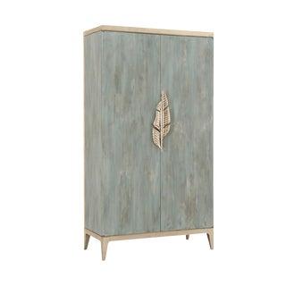 Modern Caracole Armoire Watercolour Desk For Sale