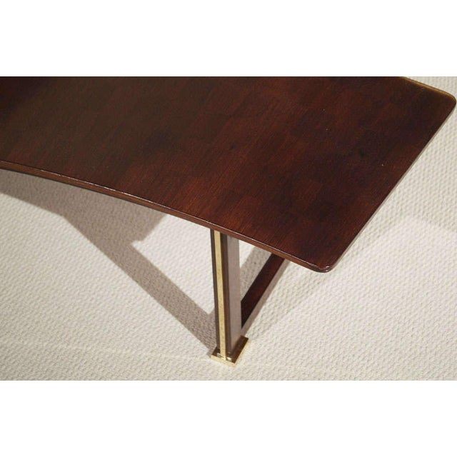 Jules Leleu Rosewood Table For Sale In San Francisco - Image 6 of 9