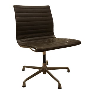 Herman Miller Charles and Ray Eames Aluminum Chair Office For Sale