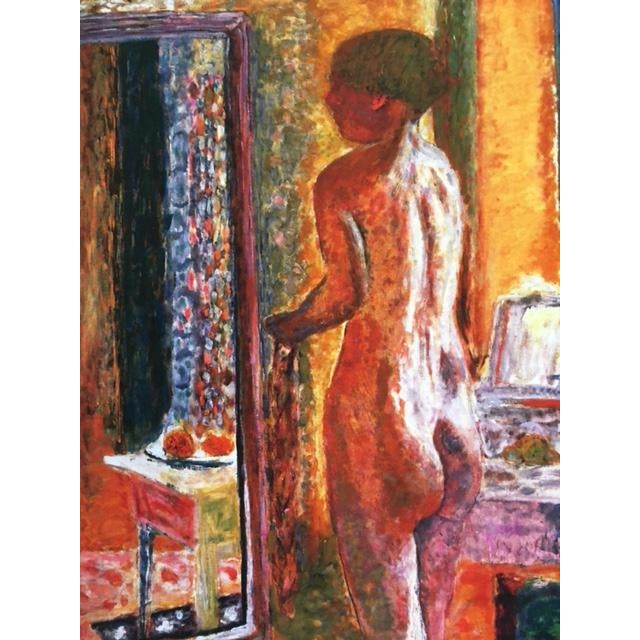 """Contemporary Pierre Bonnard """"Nude at Mirror"""" Print For Sale - Image 3 of 7"""
