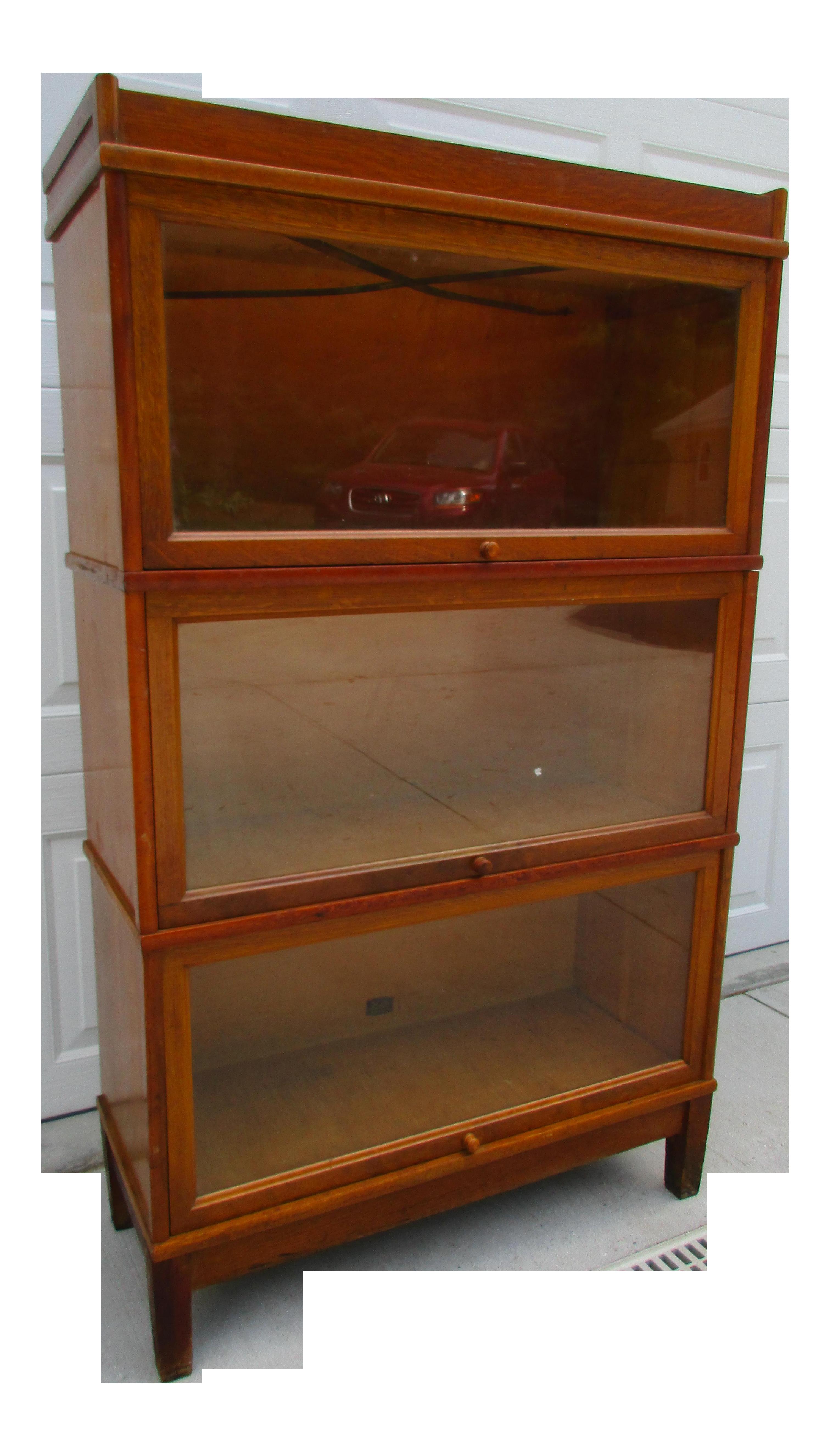 Hale Barrister Bookcase 3 Stack