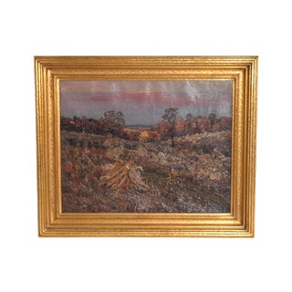 Oil on Canvas Landscape by Henry Charles Payne Il, Ma For Sale