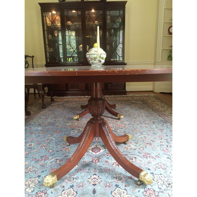 Stickley Classics Mahogany Collection Dining Table - Image 3 of 8