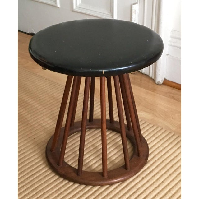 Modernist Wood Stool / Bench in Dunbar Style C.60s/70s - Image 2 of 3