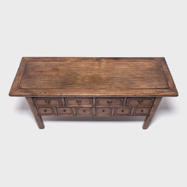 Mid 19th Century 19th Century Chinese Ten-Drawer Altar Coffer For Sale - Image 5 of 9