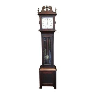 Mid 19th Century Grandfather Clock For Sale