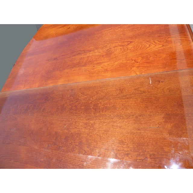 American of Martinsville Dining Room Table - Image 10 of 11