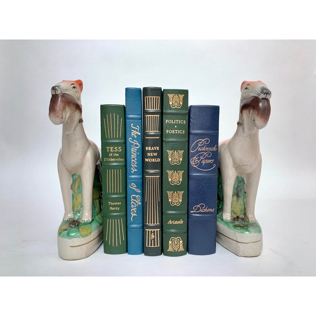 Staffordshire Ceramic Dogs – a Pair For Sale - Image 9 of 12