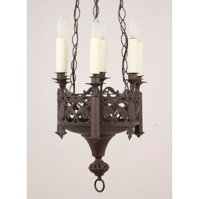 Mid 19th Century Gothic Revival Chandelier For Sale - Image 4 of 5