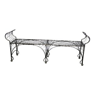 Regency Style Window Bench
