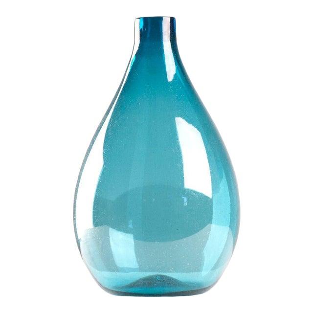 Mcnally Vase Blue in Blue For Sale