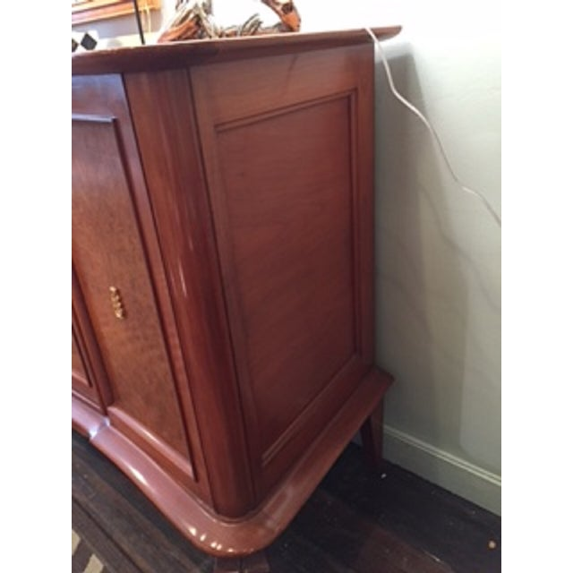 Mid-Century French Wood Buffet - Image 3 of 6