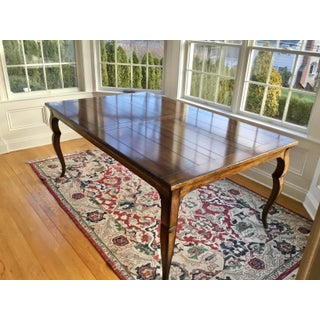 French Country Distressed Dining Table Preview