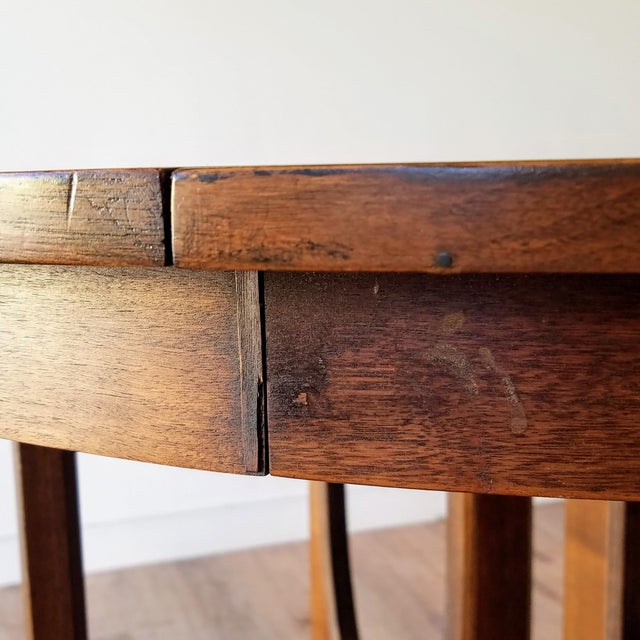 1960s Broyhill Brasilia Round Dining Table For Sale - Image 10 of 13