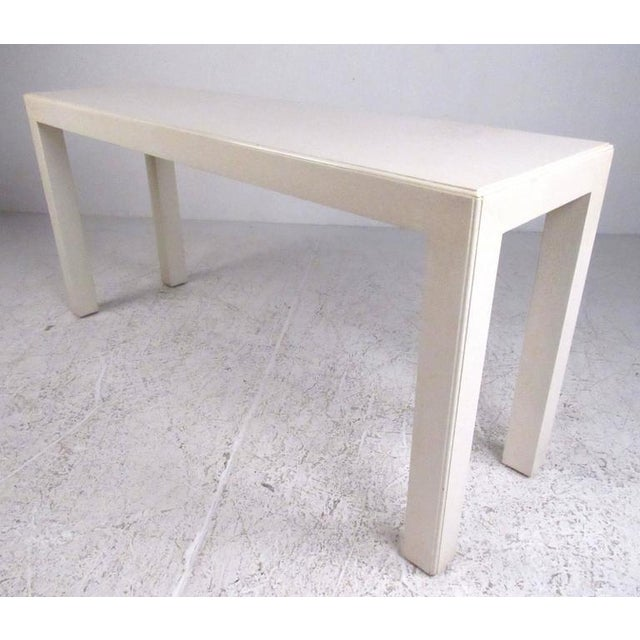 Mid-Century Modern John Widdicomb Console Table For Sale - Image 9 of 9