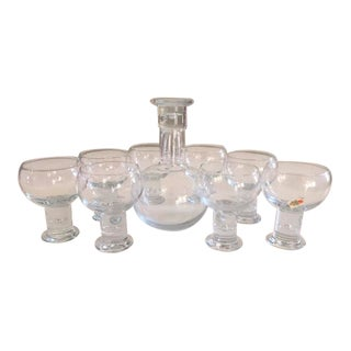 Whisky Glasses & Decanter-Set of 8