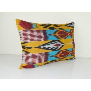 Vintage Ikat Colourful Pillow Preview
