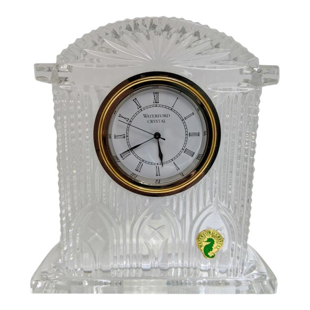 Waterford Crystal Large Westminster Clock Chairish