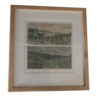 "1990s ""Wordsworth Walk"" Original Black & White Drawing For Sale"