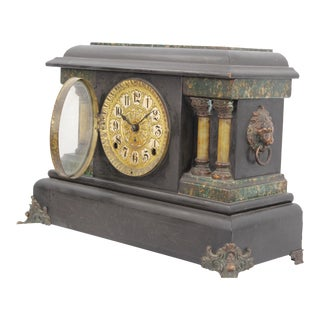 Pasargad DC Seth Thomas Ornate Mantle Clock For Sale