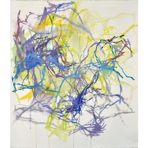 Painting in oil on paper by Elizabeth Gilfilen. 51 x 44 in. gil009