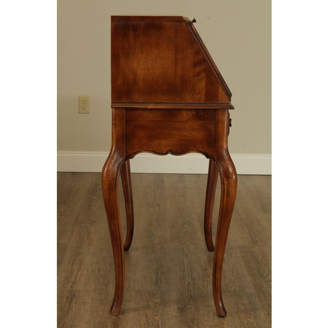 Ethan Allen Ethan Allen Country French Slant Front Writing Desk For Sale - Image 4 of 13