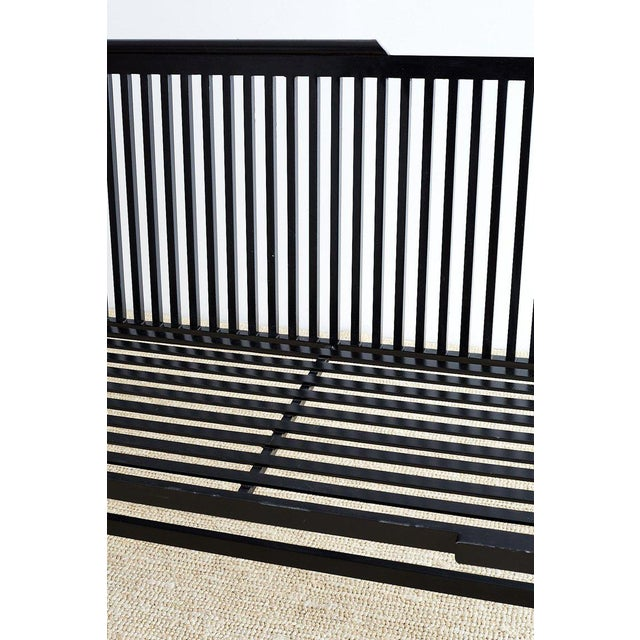 Late 20th Century Contemporary Aluminum Park Bench or Settle For Sale - Image 5 of 13