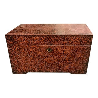 Chinese Lacquered Trunk For Sale
