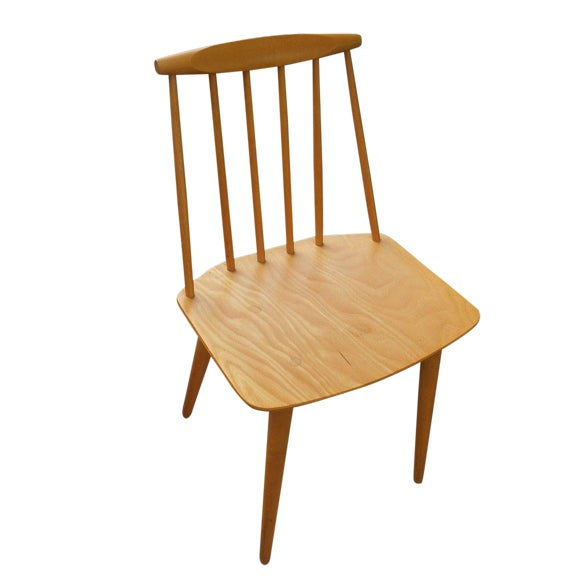 Mid-Century Danish Modern Mobler Chair - Image 1 of 7
