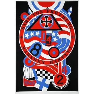 Robert Indiana, Hartley Elegies: KvF II Serigraph For Sale