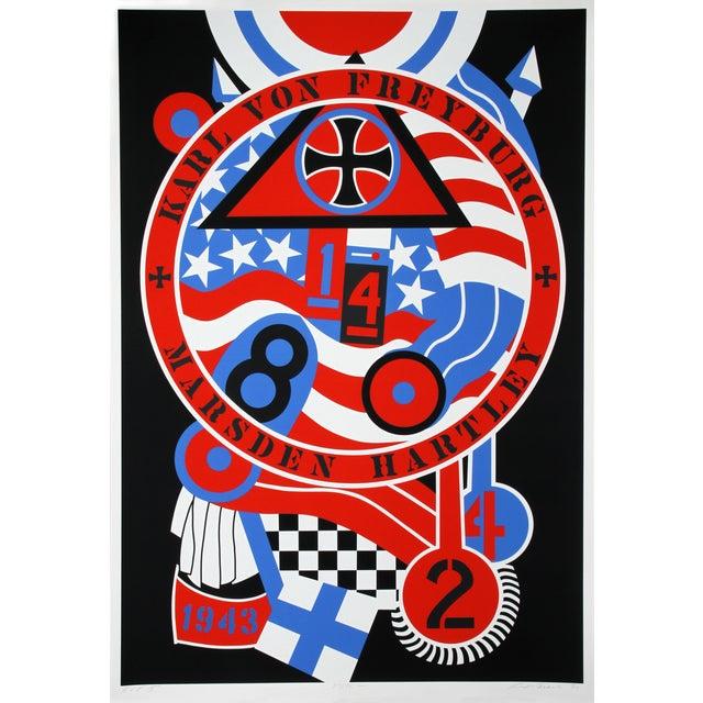 Robert Indiana, Hartley Elegies: KvF II Serigraph For Sale