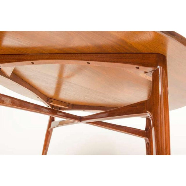 Mid 20th Century Mahogany Mid-Century Cocktail Table For Sale - Image 5 of 12