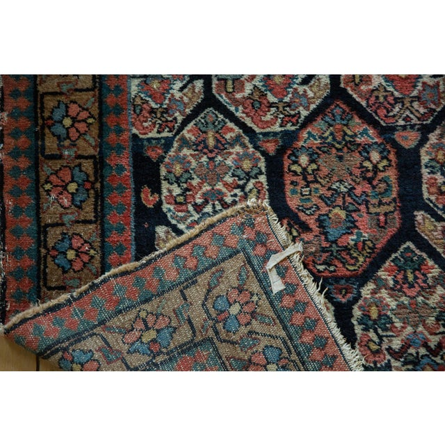"""Antique Fragment Northwest Persian Rug - 3'2"""" X 5' For Sale In New York - Image 6 of 12"""
