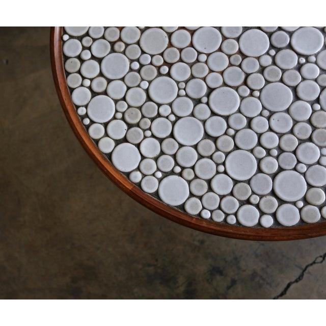 Marshall Studios Gordon Martz Ceramic Tile-Top Occasional Table, Circa 1960 For Sale - Image 4 of 11