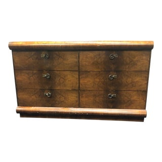 1930s Art Deco Wooden Dresser For Sale