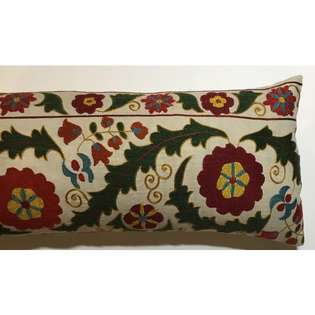 Hand Embroidery Vintage Suzani Pillow - Image 5 of 9