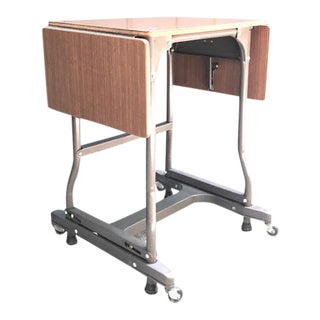 Maso Steel Products Drop-Side Writing Desk For Sale