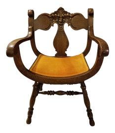 Image of Renaissance Revival Corner Chairs