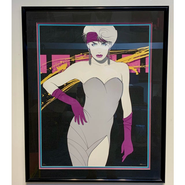 Paper 1980s Luis Preciado Figurative Signed and Numbered Limited Edition Serigraph, Framed For Sale - Image 7 of 7