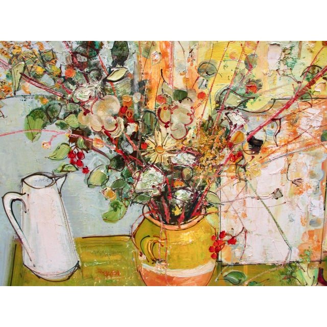 1950s Vintage Andre Vignoles Painting For Sale - Image 4 of 11