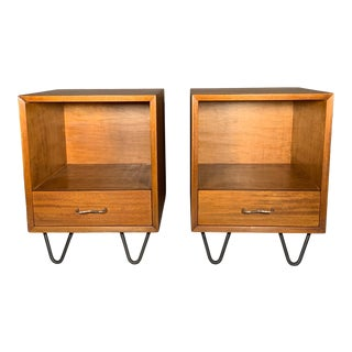 George Nelson Model #4618 Nightstands - a Pair For Sale