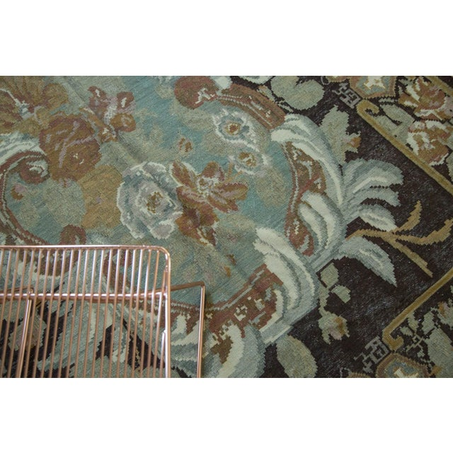 "Vintage Turkish Kilim Carpet - 6' x 8'9"" - Image 4 of 6"