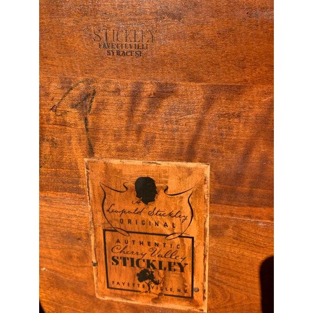 1950s Vintage Original Leopold Stickley Rockport Windsor Armchair For Sale - Image 10 of 13
