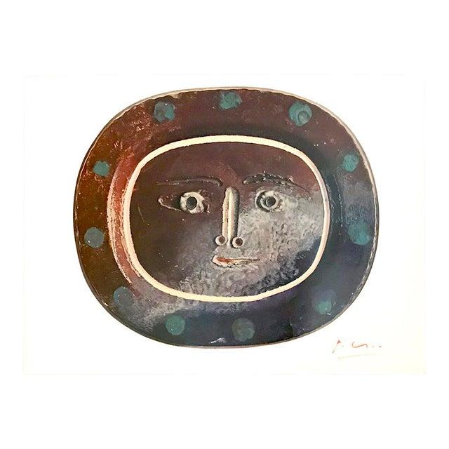 """1940s Vintage Pablo Picasso Signed """"Ceramiques"""" Print For Sale"""