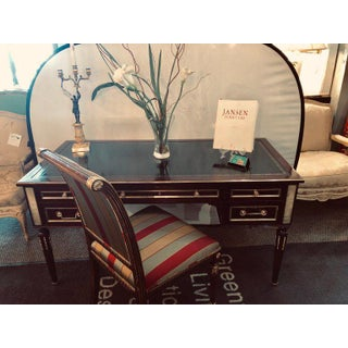 Jansen Style Fully Refinished Louis XVI Fashioned Bronze-Mounted Desk Preview