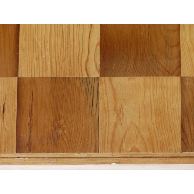 Gold Monumental Wood Case Chess Set W/ Plaster Chess Pieces For Sale - Image 8 of 11
