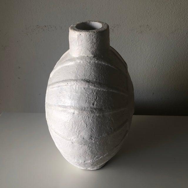 Danish Modern Vintage Danish Mid Century Face Vase For Sale - Image 3 of 9